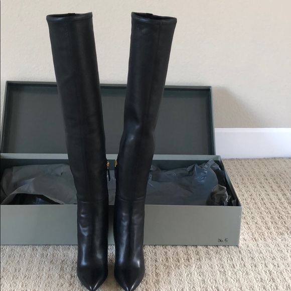 1986ffe98b1 Tom Ford Nappa over the knee boots
